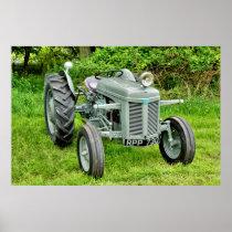 A Vintage Ferguson Tractor Poster