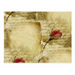 A Vintage Love Letter Postcard