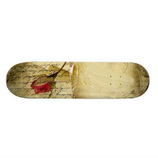 A Vintage Love Letter Skateboard