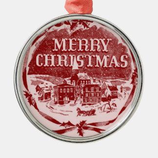 A Vintage Merry Christmas Christmas Tree Ornaments