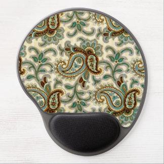 A Vintage Paisley Pattern 3 Gel Mouse Pad