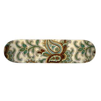 A Vintage Paisley Pattern 3 Skate Decks