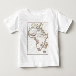 A Vintage Pinkerton Map of Africa Baby T-Shirt