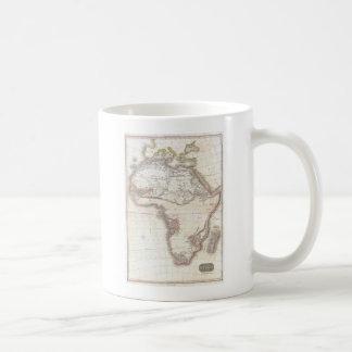 A Vintage Pinkerton Map of Africa Coffee Mug