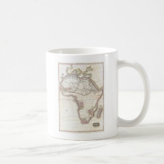 A Vintage Pinkerton Map of Africa Classic White Coffee Mug