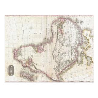 A Vintage Pinkerton Map of Africa Postcard