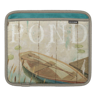 A Vintage Pond iPad Sleeves