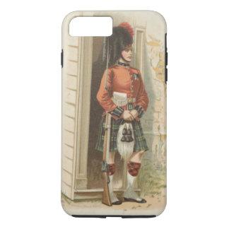 A vintage Scottish soldier iPhone 8 Plus/7 Plus Case