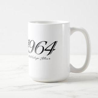 a vintage year 1964 mug