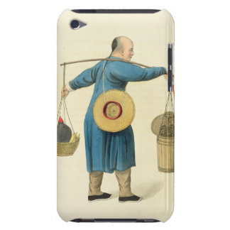 A Viper Seller, plate 46 from 'The Costume of Chin Barely There iPod Cover