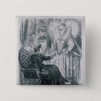 A Vision, 1868 Pinback Button