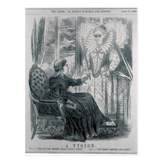 A Vision, 1868 Postcard