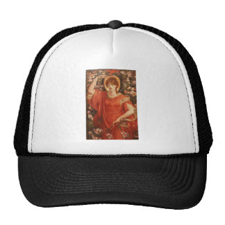 A Vision of Fiammetta by Rossetti Trucker Hat