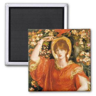 A Vision of Fiammetta - Dante Gabriel Rossetti Magnets