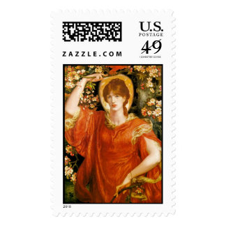 A Vision of Fiammetta - Postage Stamp