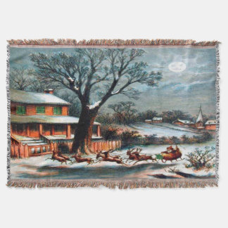A Visit from St. Nicholas A Christmas Throw