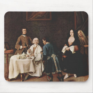 A Visit to a Lord by Pietro Longhi Mousepad