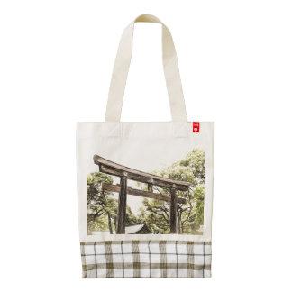 A Visit to Japan Custom Tote Bag