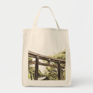 A Visit to Japan Grocery Tote Bag