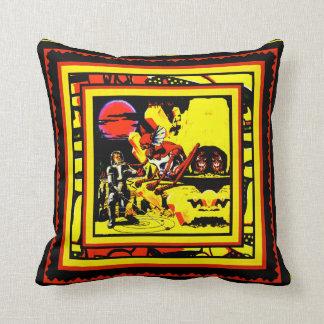 A Visit to Mercury Throw Pillow