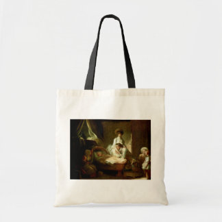 A Visit To The Nurse By Fragonard Jean-Honoré (Bes Canvas Bags