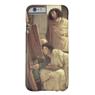 A Visit to the Studio, 1873 (oil on canvas) iPhone 6 Case