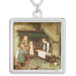 A Visit to the Sweet Shop Silver Plated Necklace