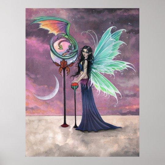 A Vivid Dream Fairy Dragon Poster