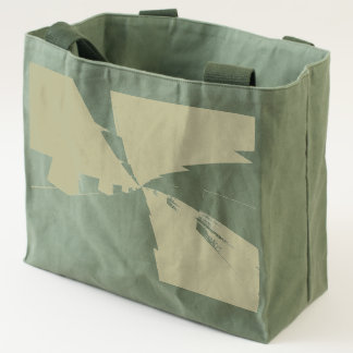 a  vortex   rotating  on canvas utility tote