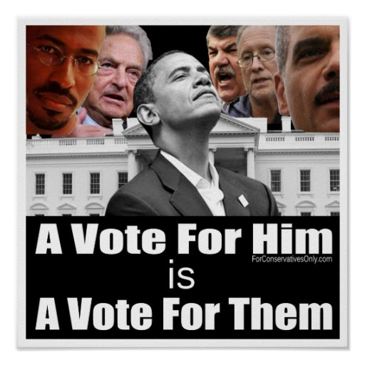 A Vote For Him is A Vote For Them Print