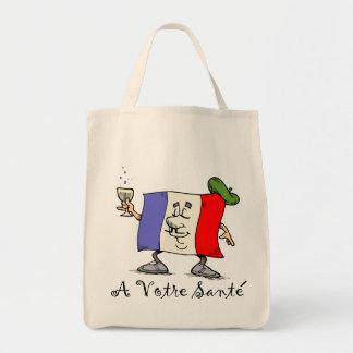 A Votre Sante Tote Bag