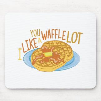 A Waffle Lot Mouse Pad
