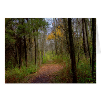 A Walk At Carriage Hill Preserve #31 Card