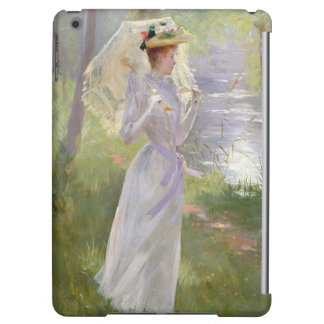 A walk by the river, 1890 iPad air cases
