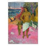 A Walk by the Sea, 1902 Card
