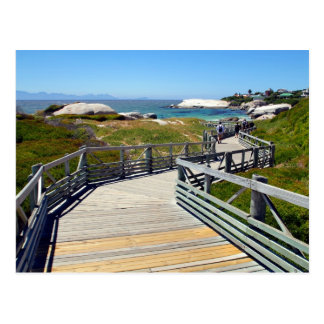 A walk down to Boulders Beach, South Africa Postcard