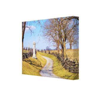 A Walk in Antietam Canvas Print