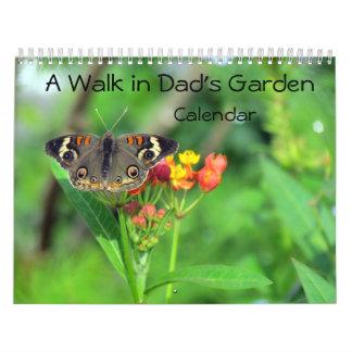 A Walk In Dad's Garden - Encore Edition Calendar
