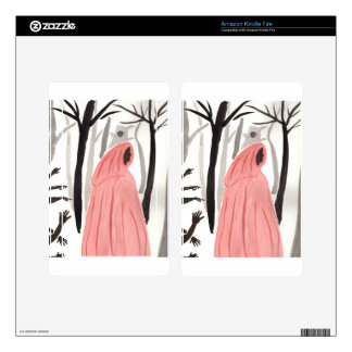 A Walk In The Creepy Forest Kindle Fire Skins