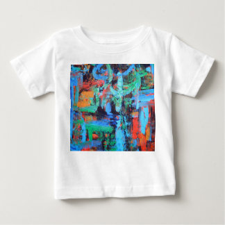 A Walk In The Forest - Abstract Art Brushstrokes Baby T-Shirt