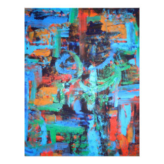A Walk In The Forest - Abstract Art Flyer