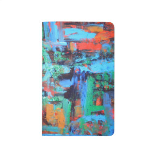 A Walk In The Forest - Abstract Art Handpainted Journal