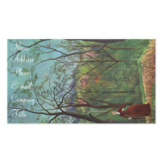 'A Walk in the Forest' Double-Sided Standard Business Cards (Pack Of 100)