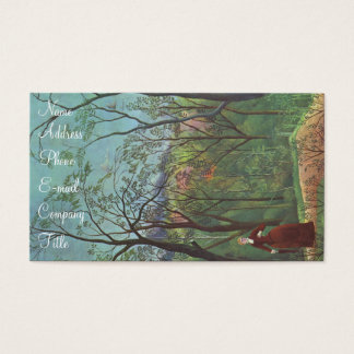 'A Walk in the Forest' Business Card