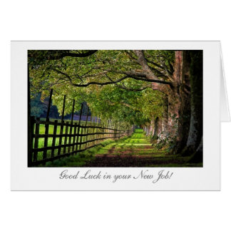 A Walk In The Park - Good Luck with your New Job Card