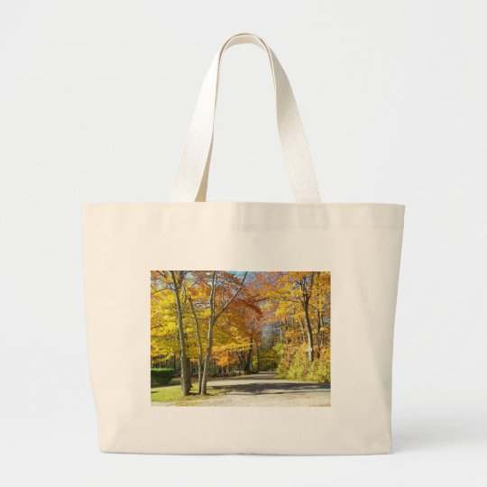 a walk in the park large tote bag