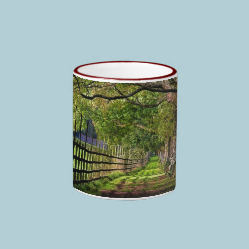 A Walk In The Park, Mount Edgcumbe Ringer Coffee Mug