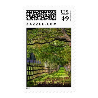 A Walk In The Park Postage Stamps