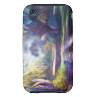 A Walk in the Shadows Tough iPhone 3 Cover