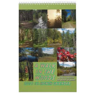 A Walk In The Woods Calendar